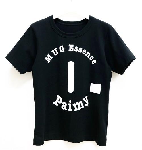 Paimy_17SS_ロゴTシャツ/ブラック
