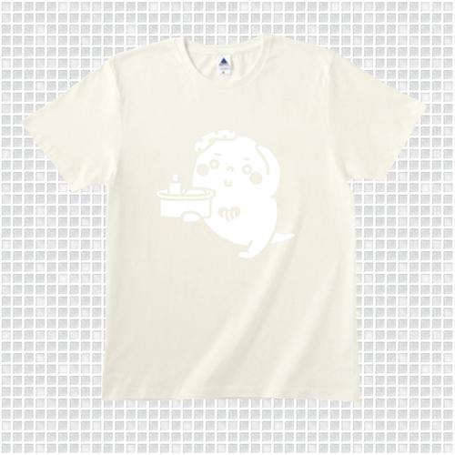 ゆっポくんTシャツ ナチュラル