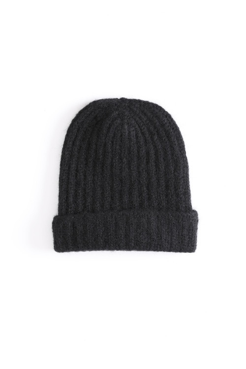 Knit Hat / ISABEL BENENATO / BLACK