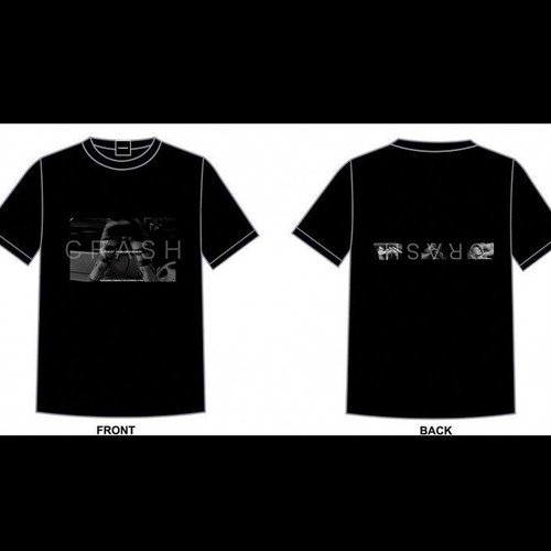 【COLLABORATION】 CRASH ×  CAFE:MONOCHROME  TSHIRT