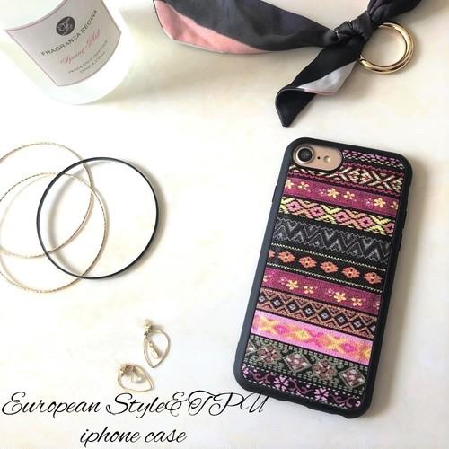 シンプルなおしゃれに iphone8 8plus iphoneX 7 7plus 6s 6splus SE 5s スマホケ―ス レザー&ソフトケース 北欧風 花柄