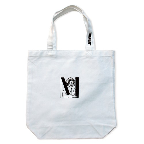 "GIRLTote Bag""Carly""(MANUAL x なめろう)"