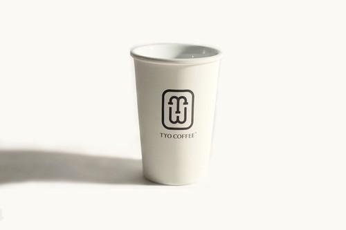 TYO COFFEE ペーパーカップタンブラー / L