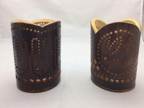 竹製ペン立て ショート