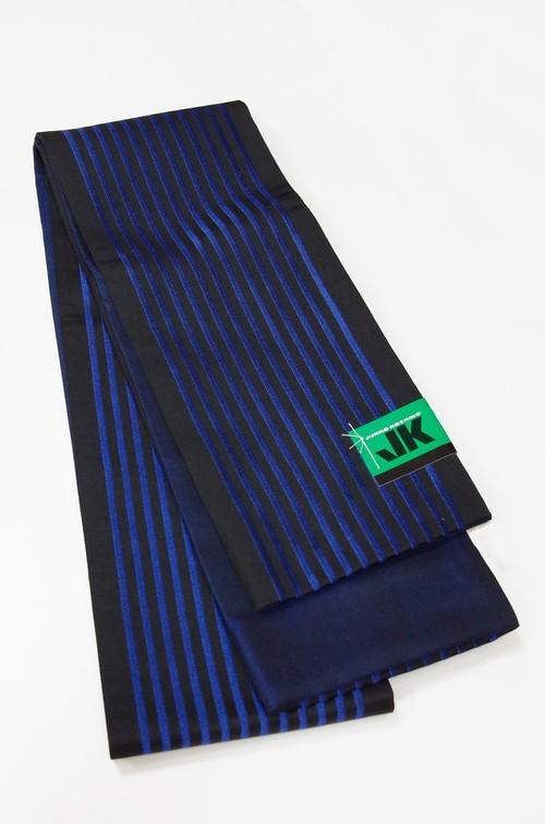 JUNKO KOSHINO縞小袋帯 レディース ポリエステル100% ブルー 半巾帯