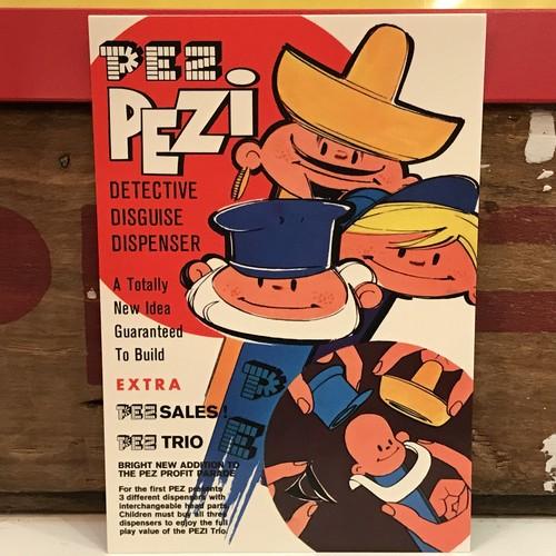 PEZ ペッツ ポストカード (厚紙仕様) PEZi トリオ U.S.A.製 2003年