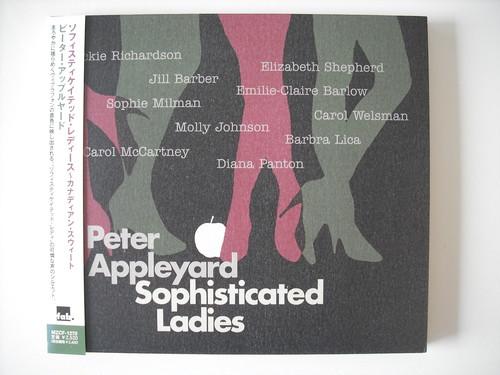 【CD】PETER APPLEYARD / SOPHISTICATED LADIES