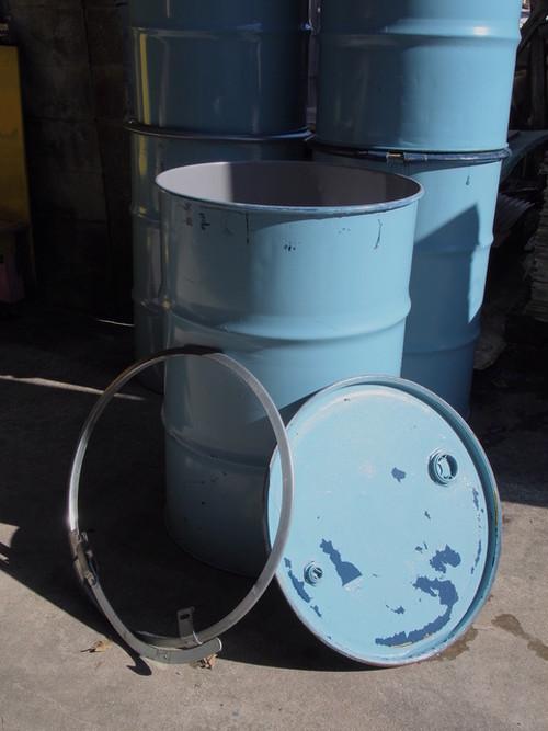 オープンドラム缶200L 蓋付