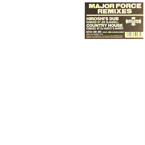 "T.P.O. / TYCOON TOSH / Major Force Remixes (2x12"")"