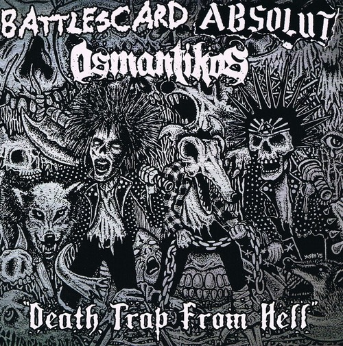 VA/ DEATH TRAP FROM HELL 3 WAY SPLIT CD