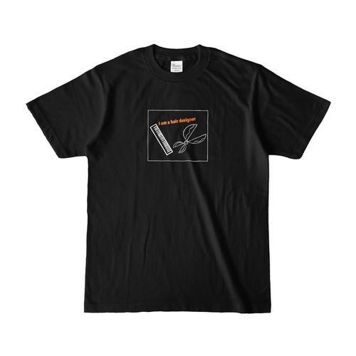 ヘアーデザイナー Tシャツ ブラック
