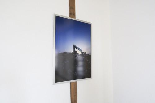 【限定】B2 額装写真「陽」017 石巻