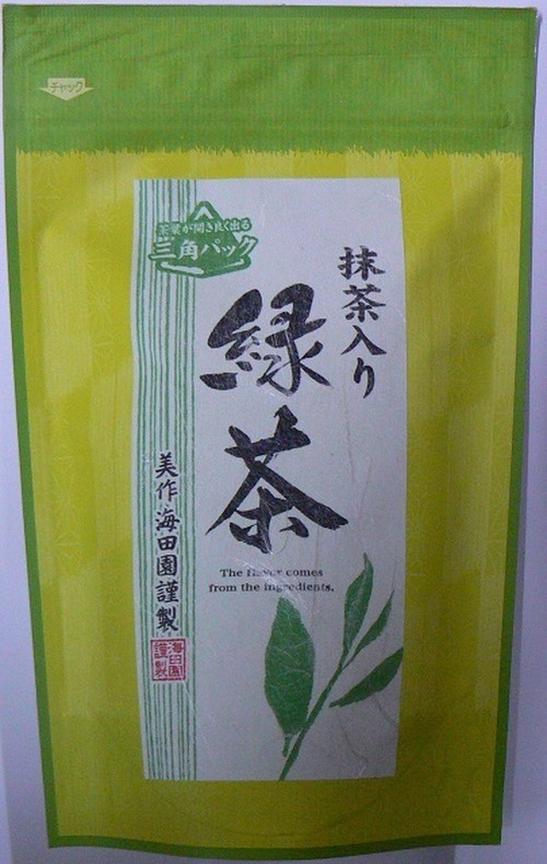 抹茶入り緑茶ティーパック 【4g×20p】