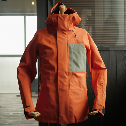 UNFUDGE SNOW WEAR 2018 / PEEP JACKET / ORANGE