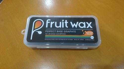 FruitWax フルーツワックス perfectBASE グラファイト グレイ