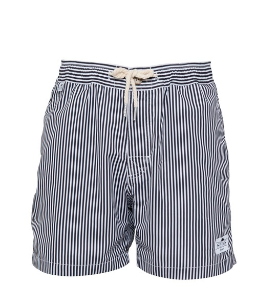 SUNS PLAIN STRIPE SWIM SHORTS[RSW023]