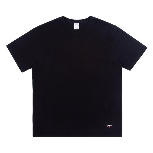 Recycled Cotton Tee(Black)