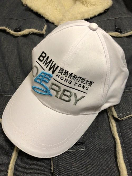 2000's BMW香港 jockey club cap