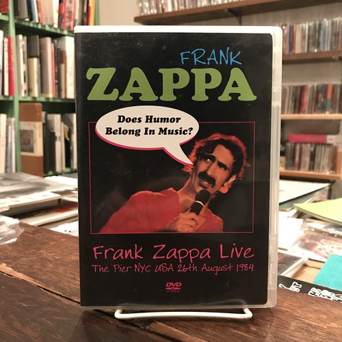 【DVD】Frank Zappa Live The Pier NYC USA 26th August 1984(フランク・ザッパ)