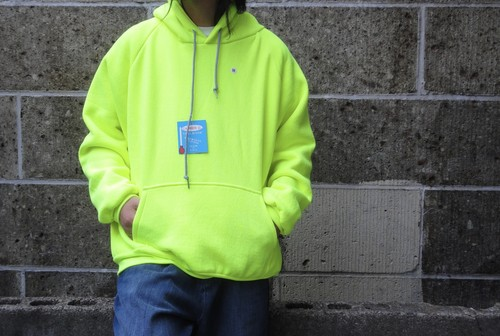 CAMBER (キャンバー) THERMAL LINED PULLOVER HOODED ライム