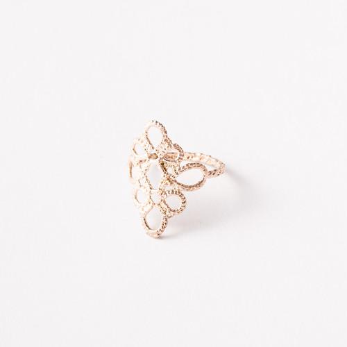 Yularice Lace ring#2 K10Gold