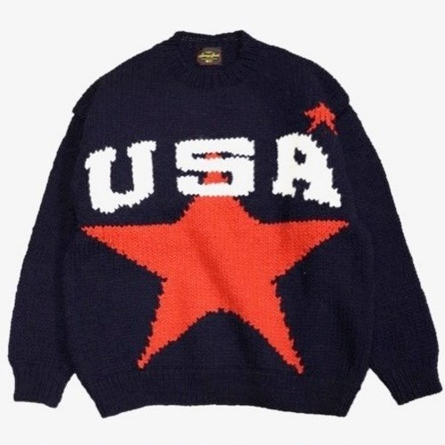 SUNNY SPORTS/サニースポーツ | USA CREW SWEATER - Navy