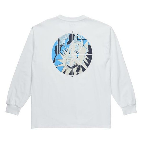 POLAR SKATE CO. 69 Fill Logo LS TEE ポーラー ロングTシャツ