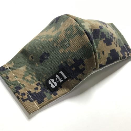 【841迷彩マスク】ウッドランドマーパット 海兵隊 立体マスク