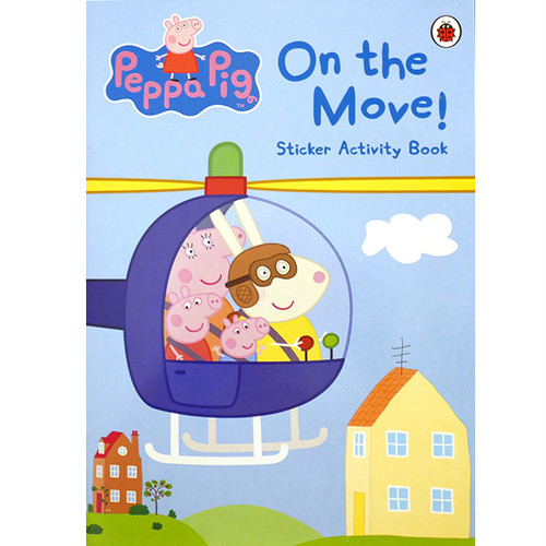 On the Move! Sticker Activity Book(ペッパピッグ)
