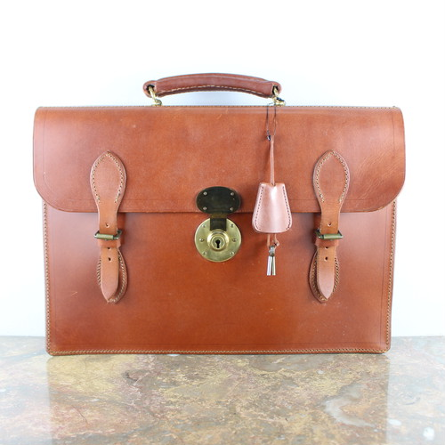 .Lloyd's BRIDLE LEATHER BUSINESS BAG MADE IN ENGLAND/ロイドブライドルレザービジネスバッグ2000000054865