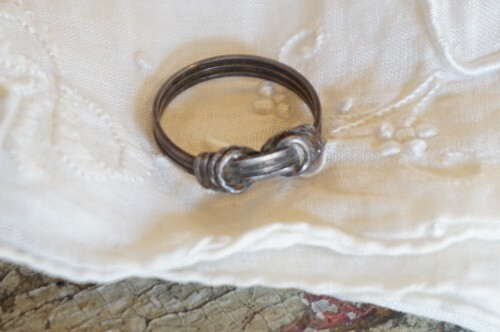 old string knot Ring