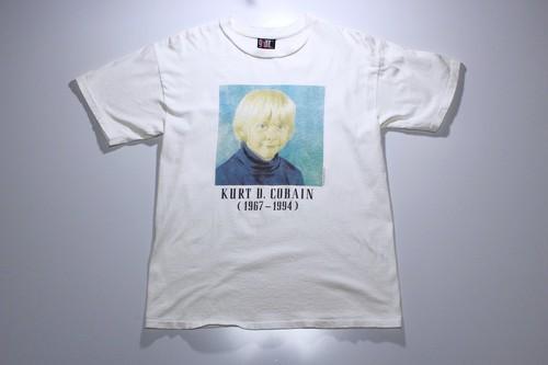 """90's """"KURT D.COBAIN"""" Requiem T-shirts"""