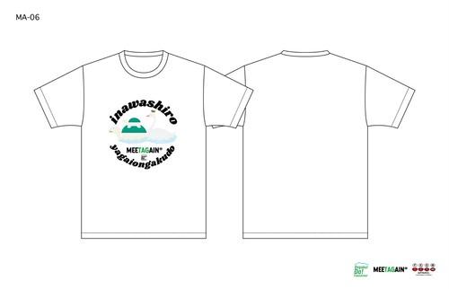 猪苗代野外音楽堂MEETAGAIN あの遊覧船Tシャツ(MA-06)