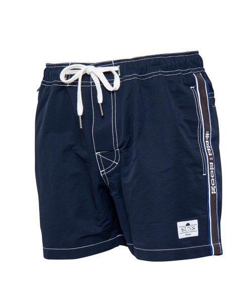 SIDE LINE LOGO SWIM SHORTS[RSW017]