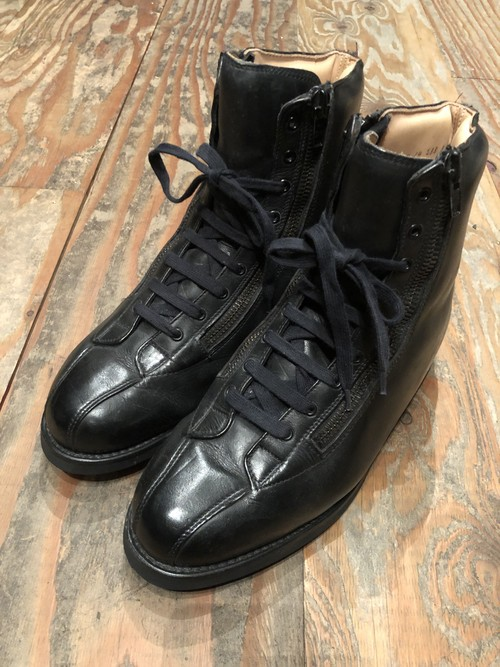 French PARABOOT with double zip