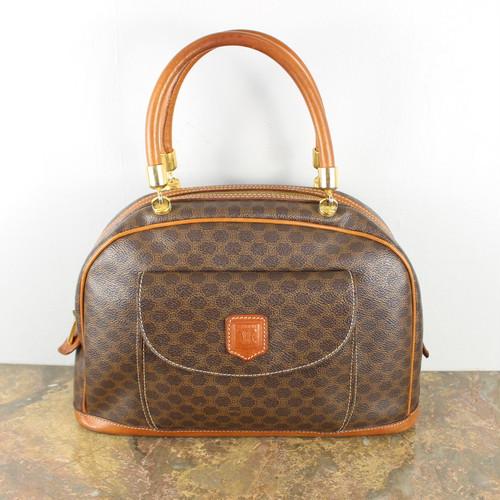 .OLD CELINE MACADAM PATTERNED HAND BAG MADE IN ITALY/オールドセリーヌマカダム柄ハンドバッグ 2000000045290
