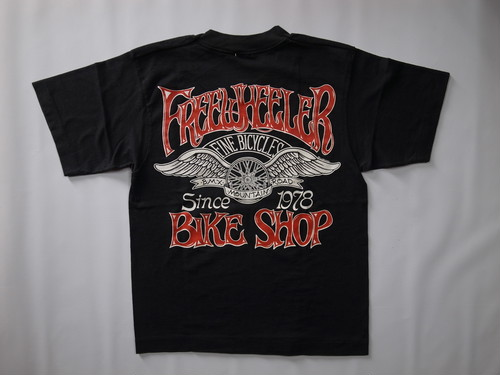 90's FRUIT OF THE ROOM BEST FREEWHEELER BIKE SHOP T-Shirts(黒)