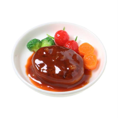 [0601]食品サンプル屋さんのマグネット(煮込みハンバーグ)