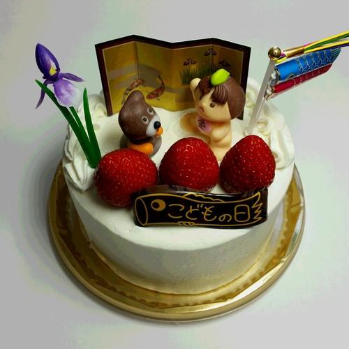 こどもの日・ひな祭りデコレーションケーキ 6号