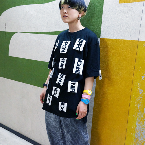 Lau made in Japan『NIPPON‐Tシャツ/ブラック』