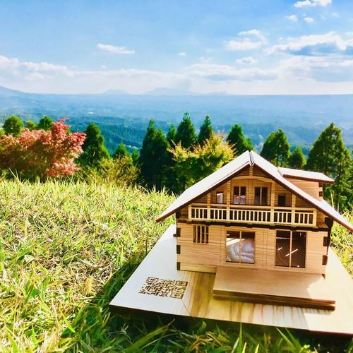 木製住宅模型キット プレミアムギフトBOX