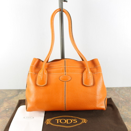 .TOD'S LEATHER HAND BAG MADE IN ITALY/トッズレザーハンドバッグ 2000000040301