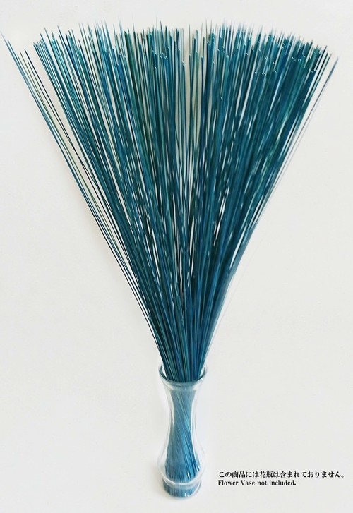 【イ草フラワー ライトブルー】Rush Grass Flower Light Blue 70cm