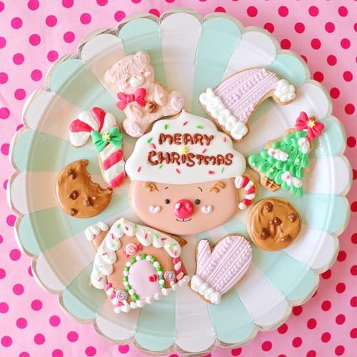 2018年クリスマス限定 アイシングクッキーセット