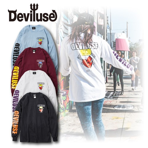 Deviluse(デビルユース) | Heart Catcher L/S T-shirts