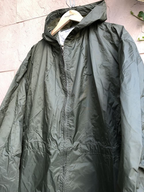 Old British military rainproof jacket