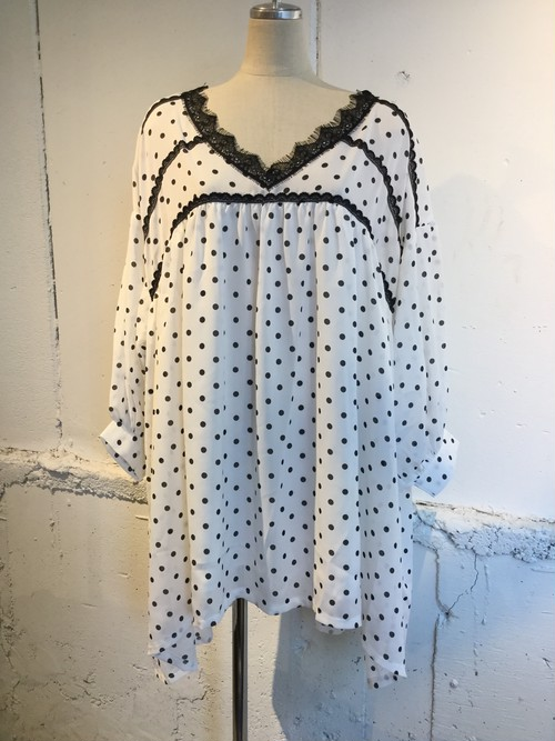 GHOSPELL Allegra Dot Dress
