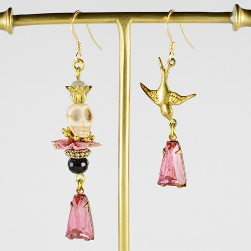 < Earrings >PーNO.873
