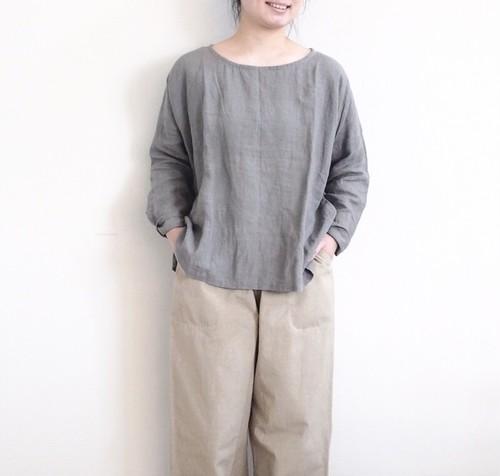 YAMMA リネンスリットシャツ  10分袖 LS-SH ヤンマ産業
