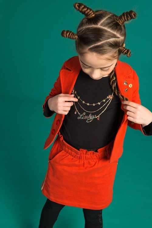 Necklace L/S Tee(Girl)